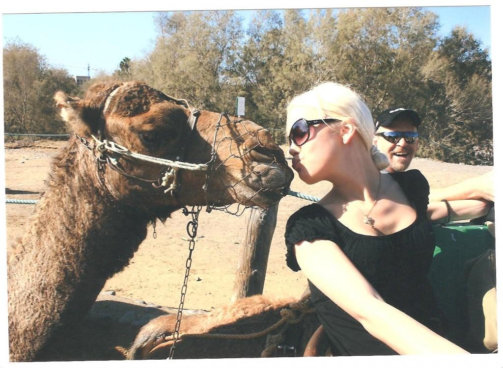 beso de camello